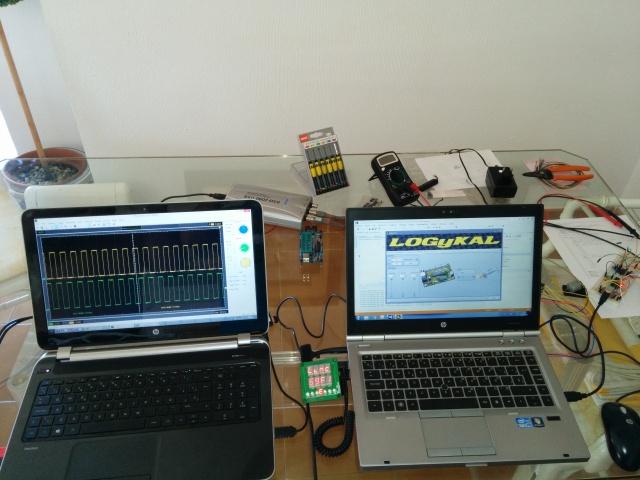 Tachometer firmware
